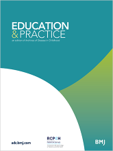 Archives of disease in childhood - Education & practice edition: 105 (2)