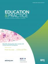 Archives of disease in childhood - Education & practice edition: 103 (5)