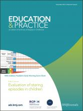 Archives of disease in childhood - Education & practice edition: 97 (6)